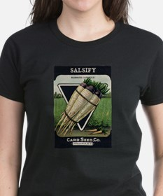 Salsify antique seed packet Tee