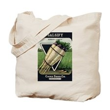 Salsify antique seed packet Tote Bag