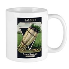 Salsify antique seed packet Mug