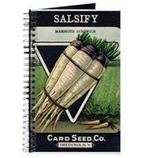 Salsify antique seed packet Journal