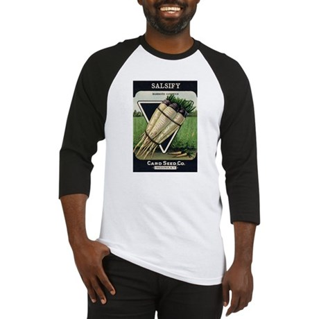 Salsify antique seed packet Baseball Jersey