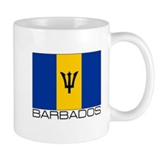 """Barbados Flag"" Coffee Mug"