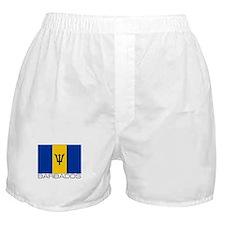 """""""Barbados Flag"""" Boxer Shorts"""