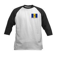 """""""Barbados Flag"""" Tee"""