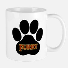 Furry Paw Mug