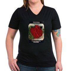 Red Bell Pepper antique seed Shirt