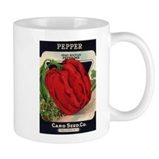 Red Bell Pepper antique seed Mug