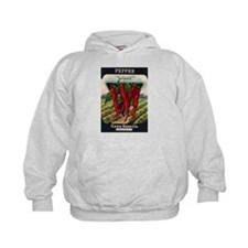 Hot Peppers antique seed pack Hoodie