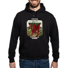 Hot Peppers antique seed pack Hoodie