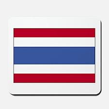 Flag of Thailand 4 Mousepad