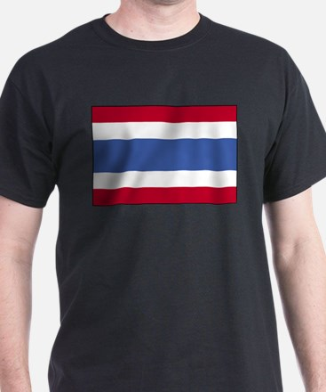 Flag of Thailand 4 T-Shirt