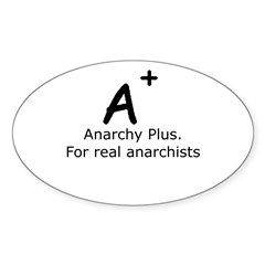 Anarchy Plus Decal