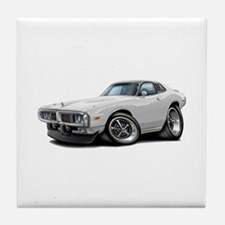 Charger White Opera Top Tile Coaster