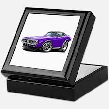 Charger Purple Opera Top Keepsake Box
