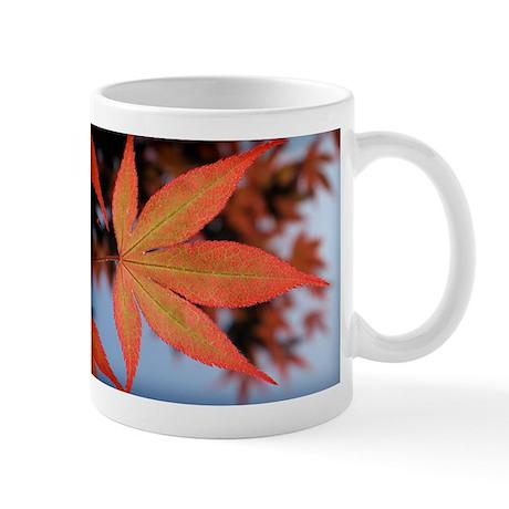 Japanese Maple Leaf Small Mug
