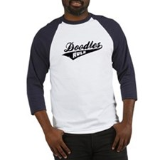 Doodles Rule Baseball Jersey