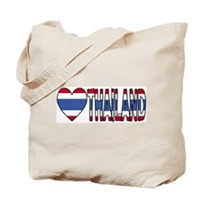 I Love (Heart) Thailand Tote Bag