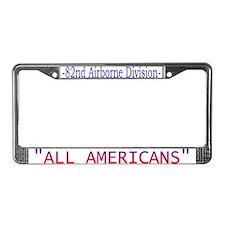 82ND ABN DIV License Plate Frame