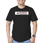 Burglar's Worst Nighmare Men's Fitted T-Shirt (dar