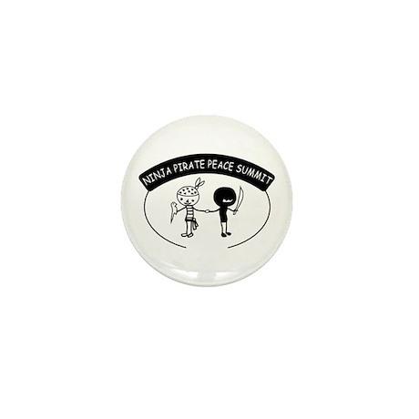 Ninja Pirate Peace Summit Mini Button (100 pack)