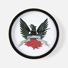 Phoenix Rising 2010 Wall Clock