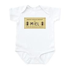 French Honeybee Label Infant Bodysuit