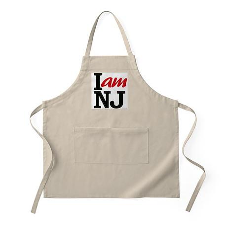 I AM NJ BBQ Apron