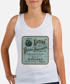 French Cosmetic Label antique Women's Tank Top