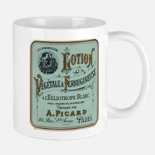 French Cosmetic Label antique Mug