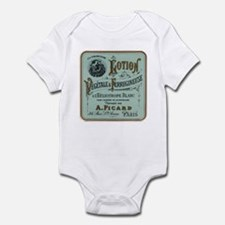 French Cosmetic Label antique Infant Bodysuit