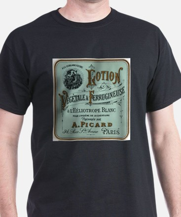 French Cosmetic Label antique T-Shirt