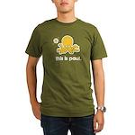 The Octopus Organic Men's T-Shirt (dark)