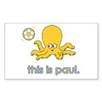 The Octopus Sticker (Rectangle 10 pk)