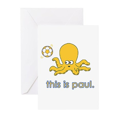 The Octopus Greeting Cards (Pk of 10)