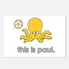 The Octopus Postcards (Package of 8)