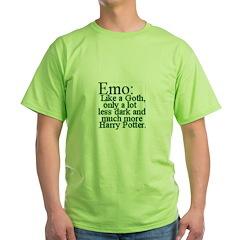 Emo: Like a Goth T-Shirt