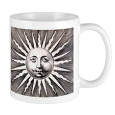 Antique Sun Mug