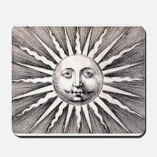 Antique Sun Mousepad