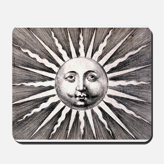 Antique Sun Mousepad
