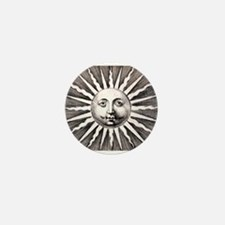 Antique Sun Mini Button (10 pack)