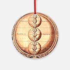Alchemy Science Chart Ornament (Round)