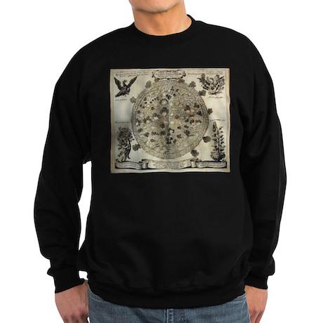 Antique Sunspots Chart Sweatshirt (dark)