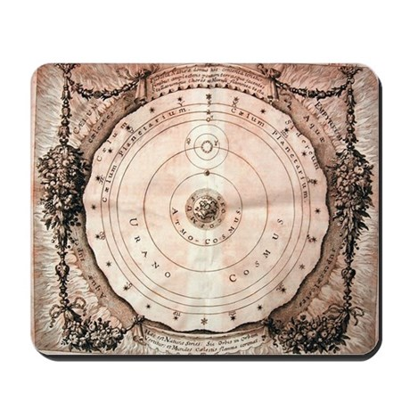 Medieval Astronomy Mousepad