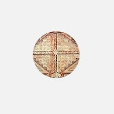 Medieval Alchemy Weather Char Mini Button