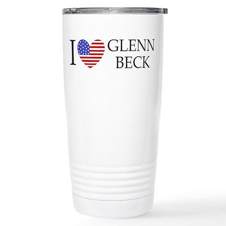 Glenn Beck Stainless Steel Travel Mug