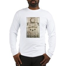 Antique Moon Phases Long Sleeve T-Shirt