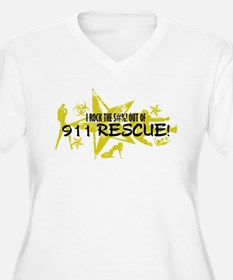I ROCK THE S#%! - 911 RESCUE T-Shirt