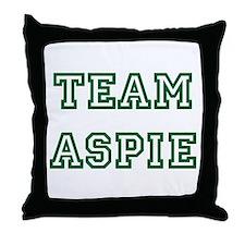 Team Aspie Throw Pillow