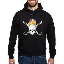 Skull Hockey Hoodie