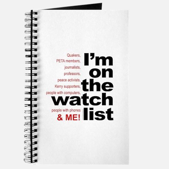 On watch list Journal